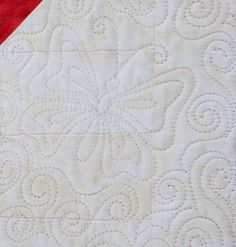Step by step freehand butterfly quilting motif  source:  Sonya's Quilting