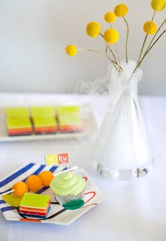 Science party ideas   Land of Nod party kits   Photos by Scott Clark   see more on 100 Layer Cakelet