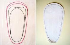DIY fleece slippers - any size!