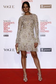 el photocall de Vogue Fashions Night Out: Eva González de Teresa Helbig www.teresahelbig.com