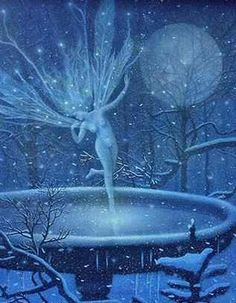 Winter fairy.