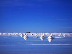 salt flats, Bolivia by Kieran001