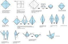Como hacer grullas de origami (tutorial+video)