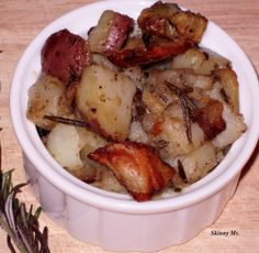 Homestyle Potatoes w/ Garlic & Rosemary...slow cooker!!