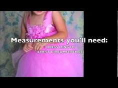 Video on how to sew a tutu dress