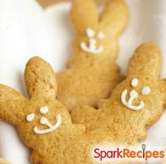 """Here's a sweet treat you can feel good about feeding your little """"bunny"""" this spring or Easter season! Made of wholesome whole grains, it's a great way to add a little fiber into your little one's diet. 