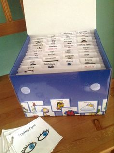 Finding your picture cards all over the place? Organize hundreds in one afternoon! Practical and economical! www.firstandthen.com