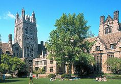 I've always wanted to visit Yale probably because I have always loved Gilmore Girls.