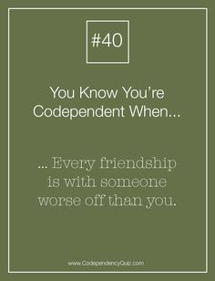 thesis on codependency Co-dependency is a learned behavior that can be passed down from one generation to another it is an emotional and behavioral condition that affects an individual's.
