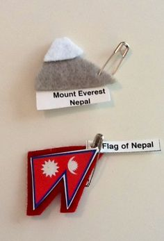 Girl Scout SWAPS for World Thinking Day: Nepal