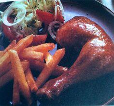 Brathendl – Bavarian Oktoberfest Roasted Chicken - German Recipes - German Food | My Best German Recipes