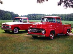 Ford F-100 Pick-ups, 1956 and 1966