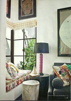 Cozy corner...