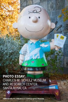 Charles M. Schulz Museum, Santa Rosa, CA by Irvin Lin of Eat the Love