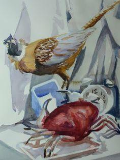 "Margaret Montgomery. ""Wildlife: 9 Still Lifes"" Solo Exhibition at Berlitz Language Center/Rockefeller Center. May 27-June 28, 2014."