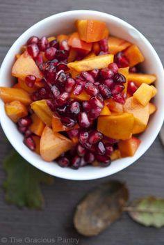 Clean Eating Winter Harvest Fruit Salad