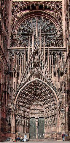 Cathedrale de Strasbourg   via Flickr