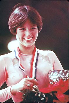 Dorothy Hamill National Figure Skating Champion and she had THE BEST hair
