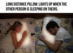 I Have to have this! Long Distance Pillow