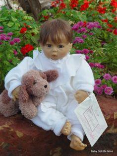 Retired Zapf Dalli by Rolanda Heimer 22 inch Baby Doll FRATELLINI E SORELLINE DAL WEB...