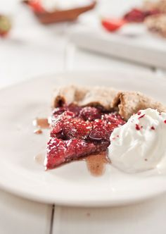 Strawberry Balsamic Galette