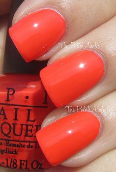OPI Formidably Orange