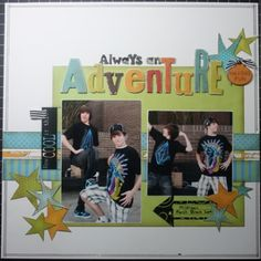 #1 Always An Adventure, by Carolyn Wolf