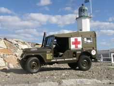 1962 Willys M170 Ambulance - Photo submitted by James Falque.