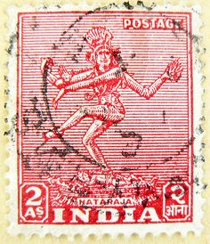 Stamp. Shiva Nataraja