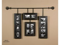 Curtain rod to hang phots