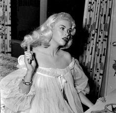 Jayne Mansfield in peignoir, 1950s