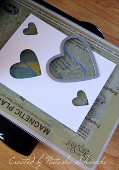 """Hearts made with Framelits """"Stencil"""" How-To"""