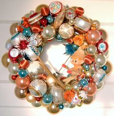 Love vintage ornaments