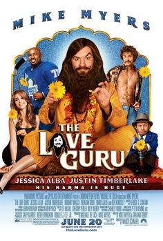 The Love Guru #NSYNC members in Justin Timberlake movies: http://www.nextmovie.com/blog/justin-timberlake-n-sync-posters/
