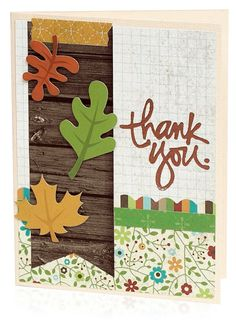 Thank You Card by Donna Jannuzzi