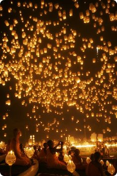 Yi Peng Festival; Chiang Mai, Thailand.  This is my new dream.