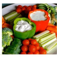 Sure Fit Slipcovers: Summer Entertaining: Vegetable Trays & Displays