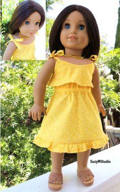 Summer Breeze Tie Shoulder Dress Pattern by Suzy M Studio