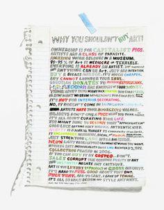 Why You Shouldn't Buy Art print. Ha.
