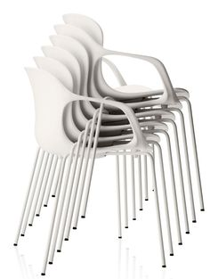 stacking chairs...