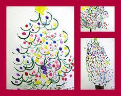 Christmas Tree Prints Craft