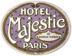 vintage label - printable  #paris