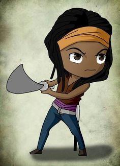 #TheWalkingDead #Michonne