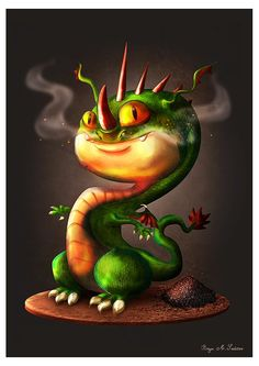 """""""Little Draco"""" by Bayu Sadewo, Photoshop brush supported by http://mentalfloss.deviantart.com/"""