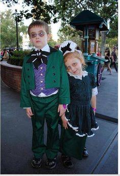 Haunted Mansion Halloween costumes