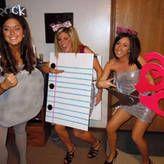 Halloween DIY: Rock Paper Scissors Costume
