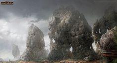 The T'ianan Slums of Paikang // Age of Conan, Rise of the Godslayer.