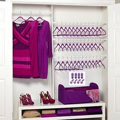 Joy Mangano Huggable Hangers 45-piece Set with Huge Organizer! - Brass at HSN.com