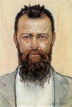 Self-portrait - Ferdinand Hodler