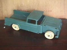 Original pick-up truck for Big Bruiser set Super Highway Service by Marx